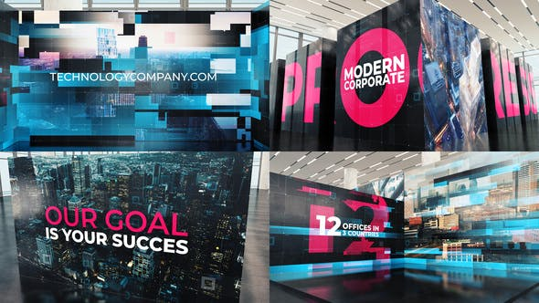 Videohive Modern Technology Corporate 28399332