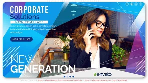 Videohive New Generation Corporation 29044425