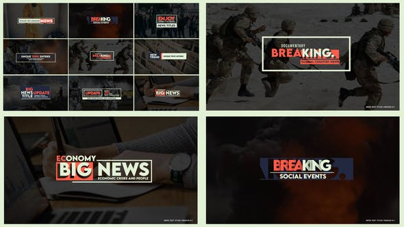 Videohive News Text Titles Version 0.1 27552200