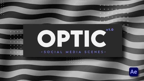 Videohive Optic - Social Media Scenes 28946825