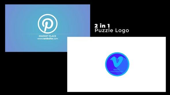 Videohive Puzzle Logo 24273981