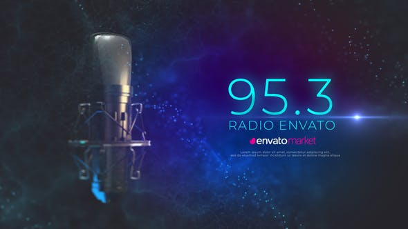 Videohive Radio Logo Opener 24427572