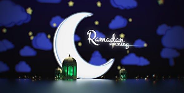 Videohive Ramadan Kareem Opening 19995385