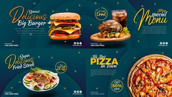 Videohive Short Food Promo Display 28971041