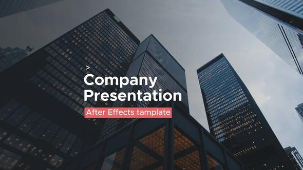 Videohive Simple Presentation - Minimal Presentation 24550983