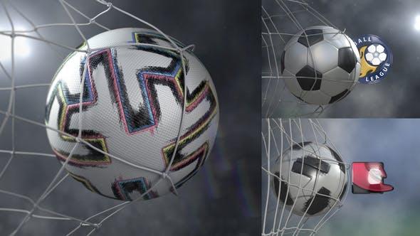 Videohive Soccer Goal - Logo Pack 21774623