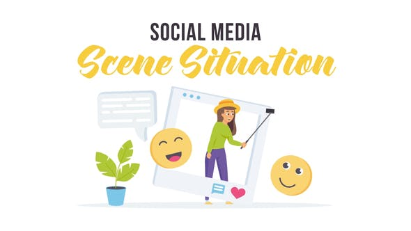 Videohive Social media - Scene Situation 28256346
