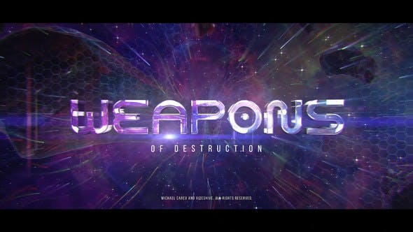 Videohive Space Action Trailer 23470281
