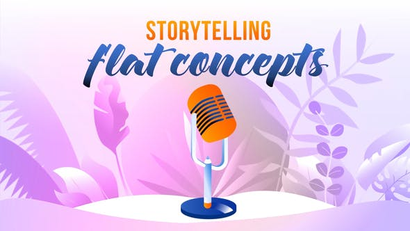Videohive Storytelling - Flat Concept 27646540