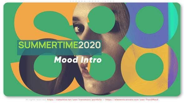 Videohive Summer Mood Intro 27926478