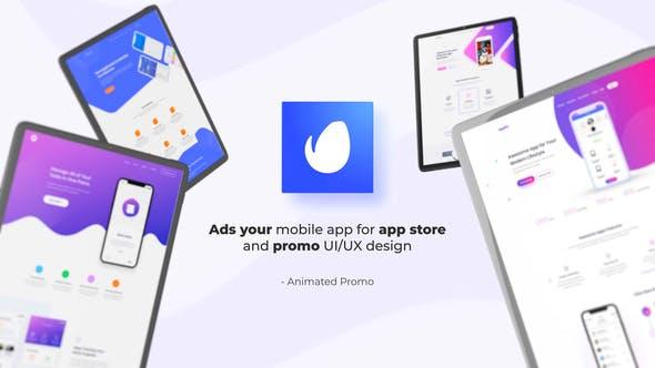 Videohive Tablet App Promo 27476104