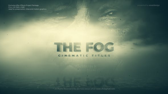 Videohive The Fog Cinematic Title 28101766