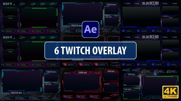Videohive Twitch Overlay Stream 28995920