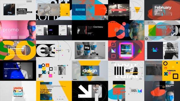 Videohive Typographic Promo 25422714