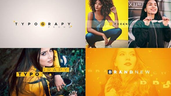 Videohive Typography Promo 23361826