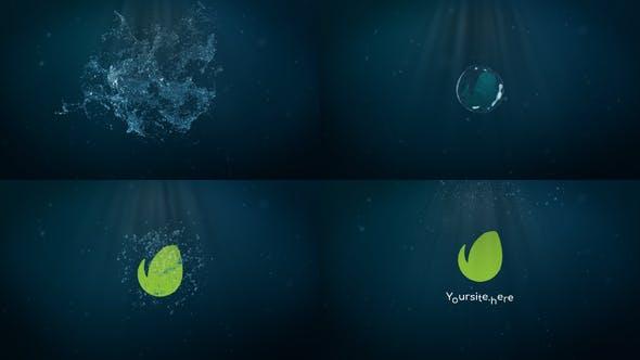 Videohive Water Splash Logo 26688036