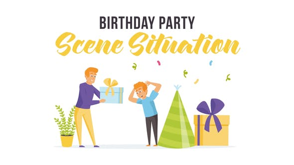 Videohive Birthday party - Scene Situation 28255801