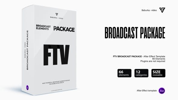 Videohive Broadcast Package 22648322