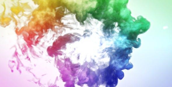 Videohive Colorful Smoke Logo Reveal 9742474