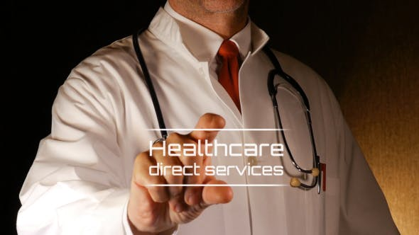 Videohive Doctor Intro - Medical Logo 19653227