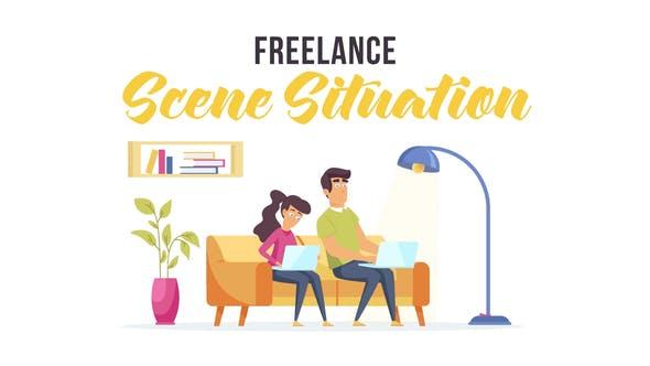 Videohive Freelance - Scene Situation 28479480