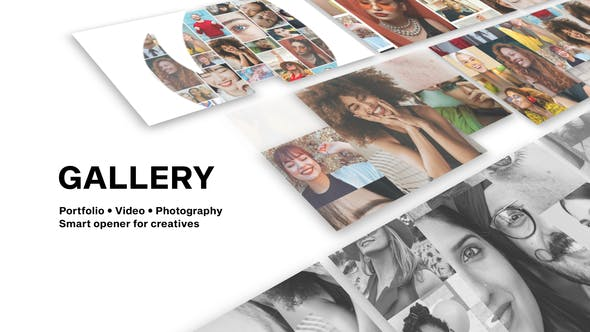 Videohive Gallery - Photo And Video Logo Reveal 28314287