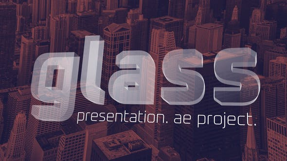 Videohive Glass Presentation - Tech Presentation 28338916