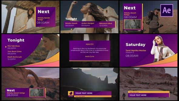 Videohive Gradient Broadcast Package 29008623