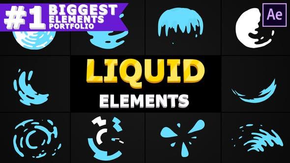 Videohive Liquid Circles 28475653