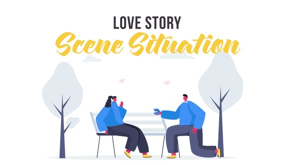 Videohive Love story - Scene Situation 28435500