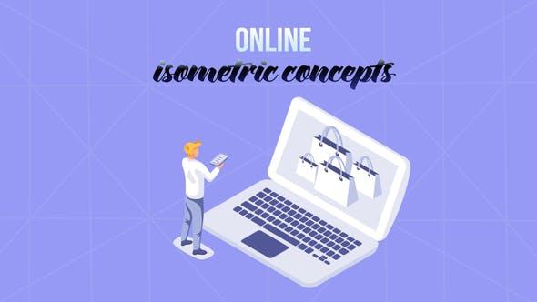 Videohive Online - Isometric Concept 29057284
