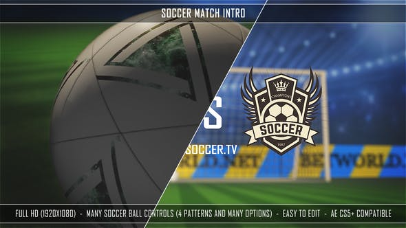 Videohive Soccer Match Intro 27303221
