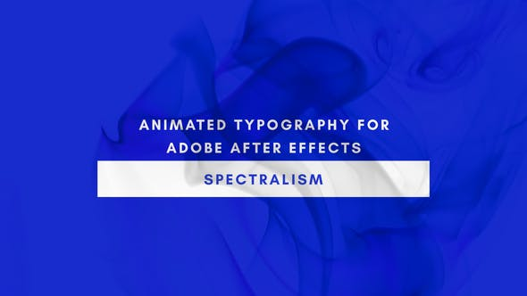 Videohive Spectralism - Animated Titles 22552852