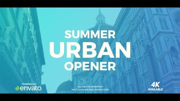 Videohive Summer Urban Slideshow 20332265