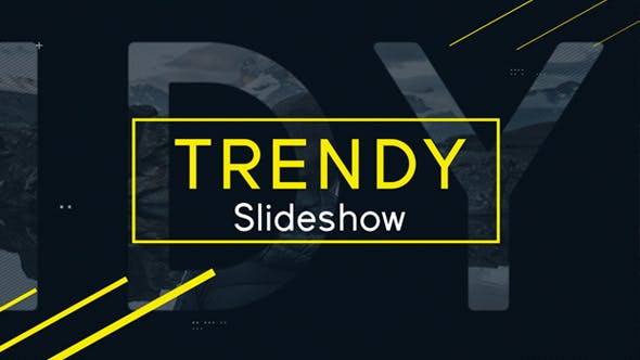 Videohive Trendy Slideshow 18866341