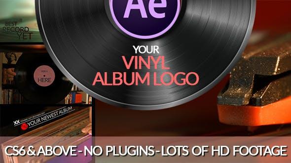 Videohive Vinyl Record Logo 19727625