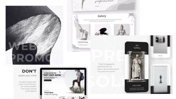 Videohive Website Promo Design Studio 27926980