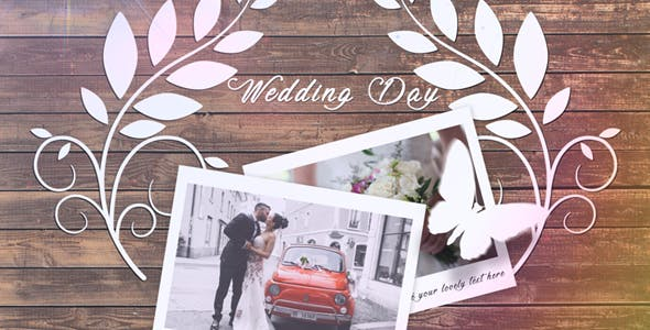 Videohive Wedding Slideshow 20919263