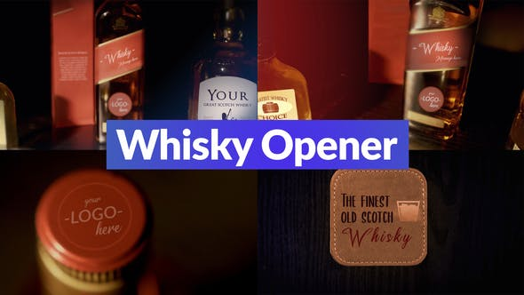 Videohive Whisky Opener 29659150