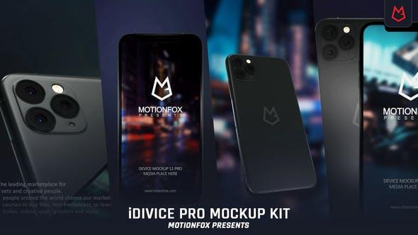 Videohive iDevice 11 Pro Mockup Kit - App Promo 24726904